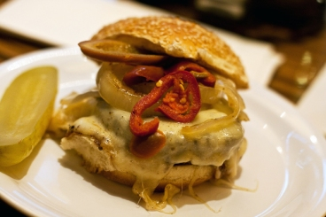 Philadelphia Burger, (source: Bobby's Burger Palace via Google images)